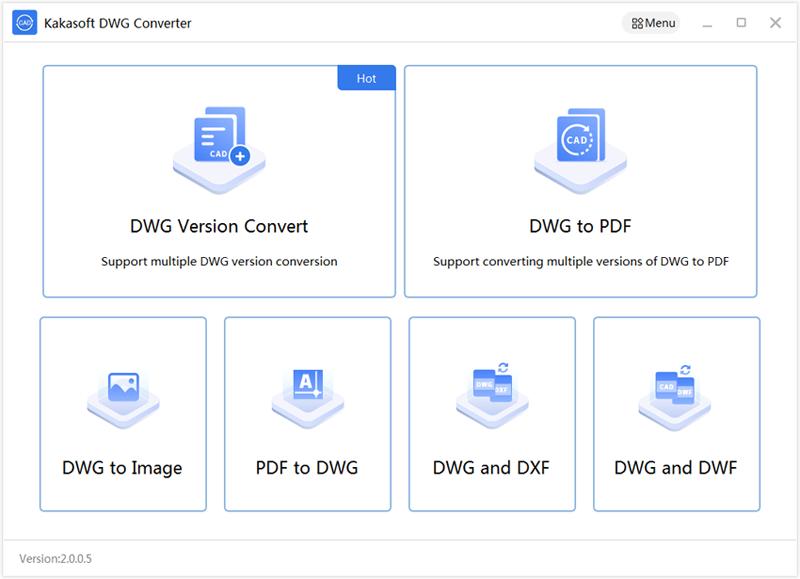 PDF to DWG Converter full screenshot