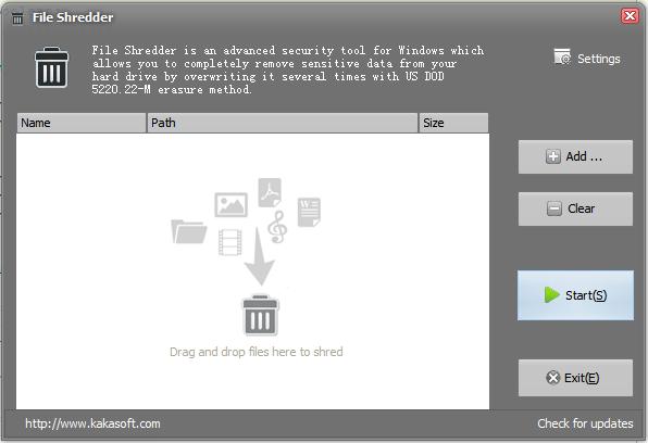 Windows 7 File Shredder 4.1.2 full