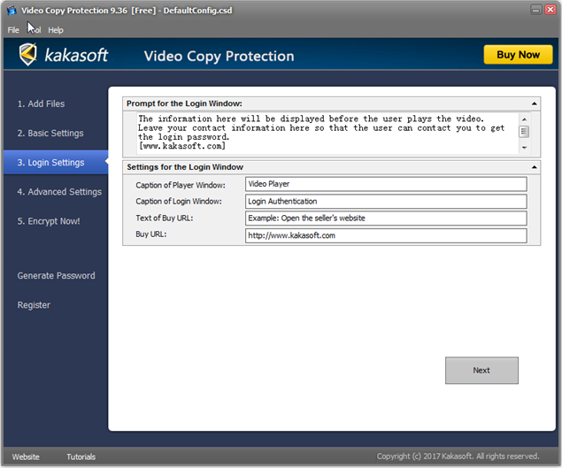 How to use? -Video Copy Protection