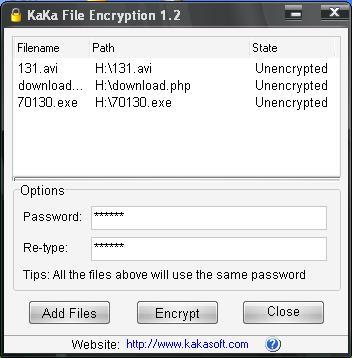 KaKa File Encryption