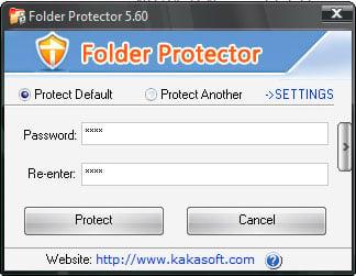 external hard disk folder lock software free