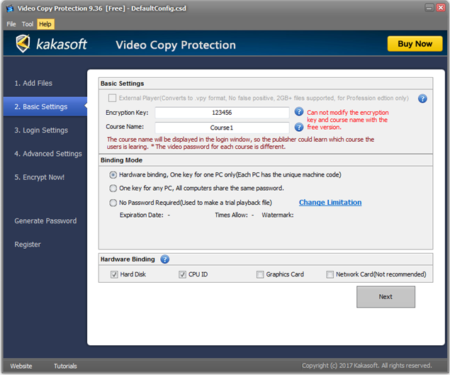Video Copy Protection