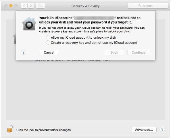 encrypt hard drive on macos