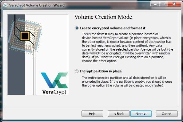 encrypt flash drives with veracrypt