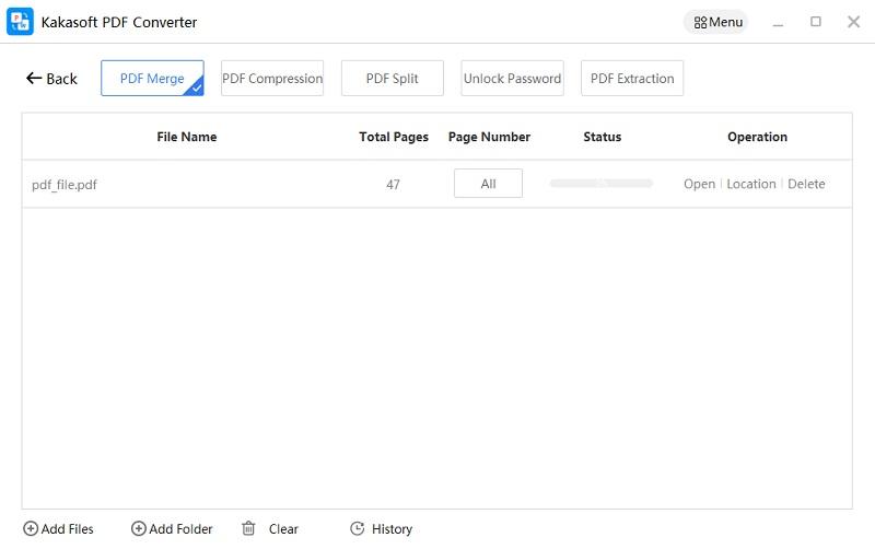 KakaSoft PDF Converter