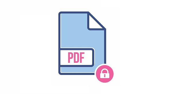 secure a pdf