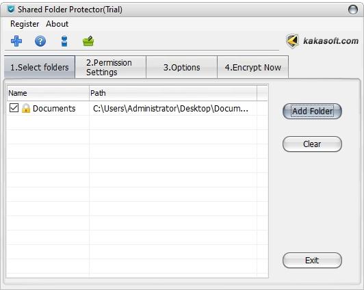 shared folder protection