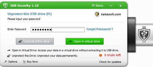 decrpyt SD card with KakaSoft