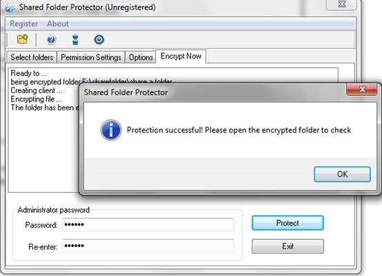 protect folders shared on network6