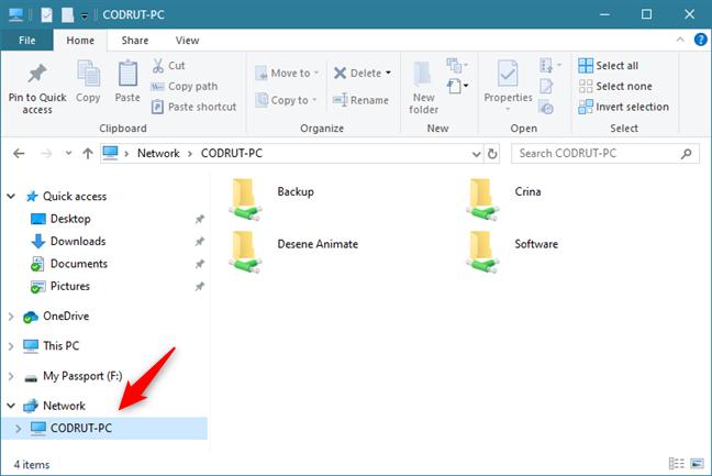 access shared folders windows 1