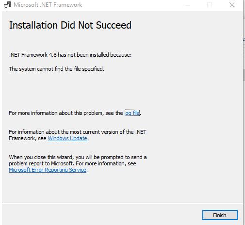 How to install .NET Framework 4.8 in Gif Maker