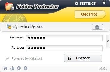 Retrieve your Folder Password via Recovery Mailbox