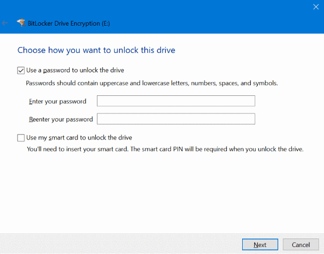 lock drive with bitlocker_2