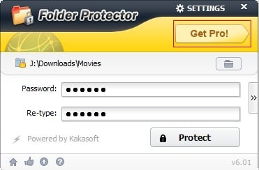 How to Register Folder Protect