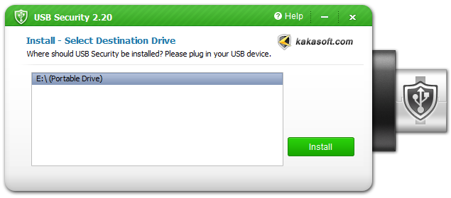 usb security install