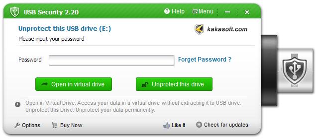 unprotect USB drive