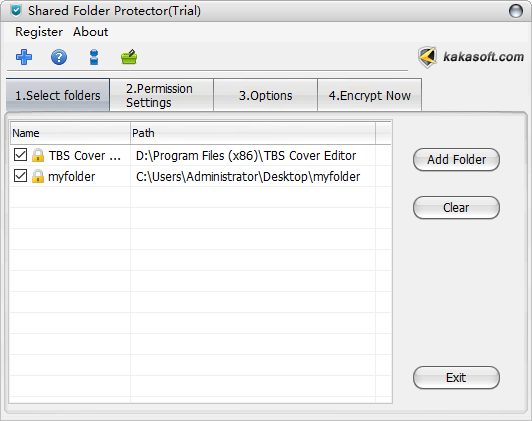 Shared Folder Protector